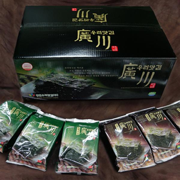 광천우리맛김 / 홍성 / HACCP / 식탁김세트 / 재래+파래 30봉