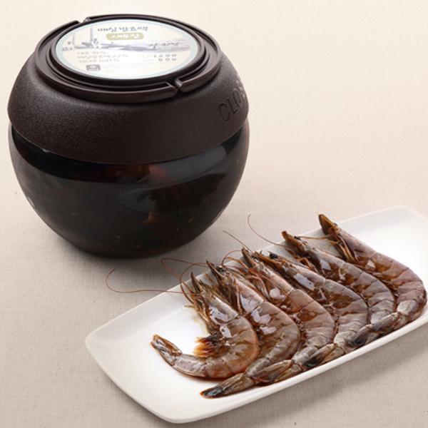 자하람 / 태안 / 자하람 매실발효액 새우장 1.2kg(새우 500g)