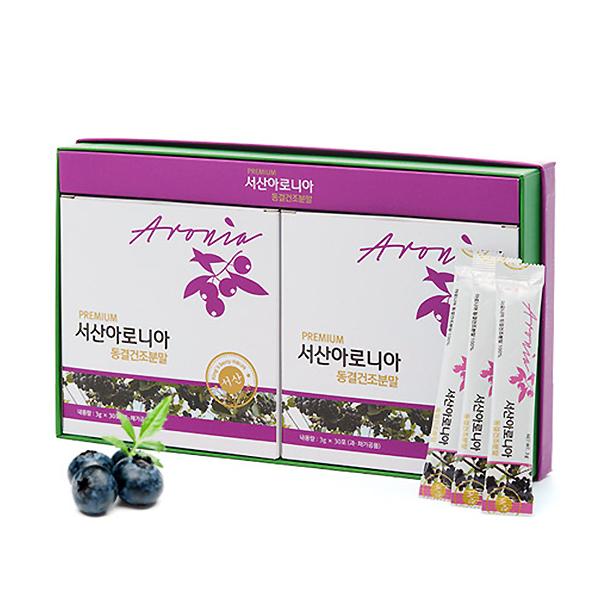 서산시아로니아영농조합 / 서산 / 동결분말건조스틱형