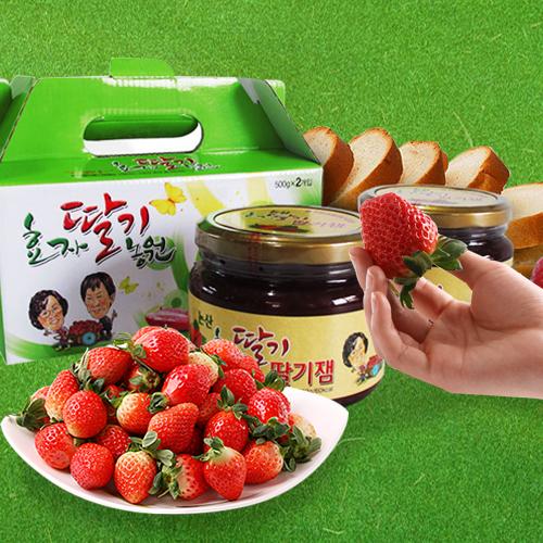 효자딸기농원 / 논산 / 효자딸기잼 560g*2병