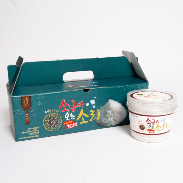소금이오는소리 / 3년 숙성 세척 천일염세트(400g x 3개입)
