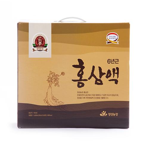 정성농장 / 금산 / 100% 홍삼추출액 / 6년근 홍삼액 90mlx60포