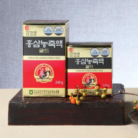 백제금산인삼협동조합/ 삼지원 / 6년근 홍삼농축액골드 240g