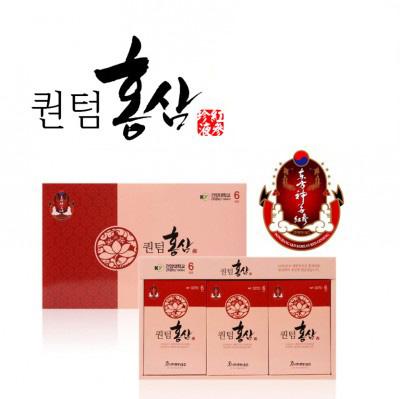 동방아이앤디/6년근 금산홍삼순액100%/퀀텀홍삼액/1박스(80mlx30포)/3박스(80mlx90포)