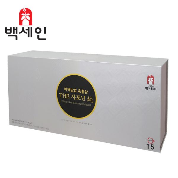 농업회사법인(주)한국흑홍삼 / 백세인 흑홍삼 / 더사포닌순(50mlx30포)