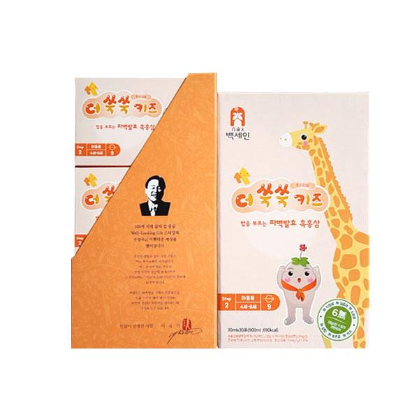 농업회사법인(주)한국흑홍삼 / 백세인 흑홍삼 / 더쑥쑥키즈 오리지널(30mlx30포)